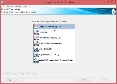 Cara Membuat File ISO Dari Data Folder 2