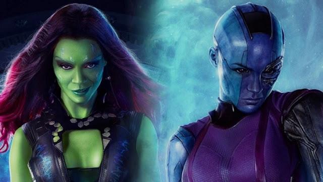 Nébula y Gamora son las hijas adoptivas de Thanos