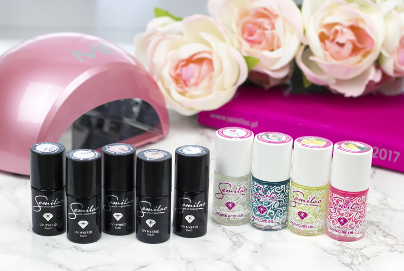 DIY Salon Nails at home: Semilac Soak Off UV Hybrid Nail Polish Review, Tutorial & Giveaway!