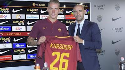 Bek Rick Karsdorp Resmi ke Roma