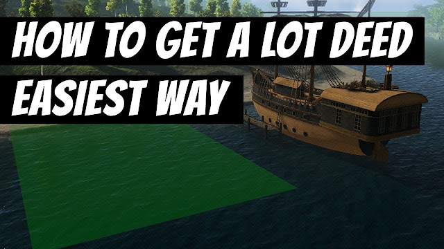 How To Get A LOT DEED, The Easiest Way • Shroud Of The Avatar