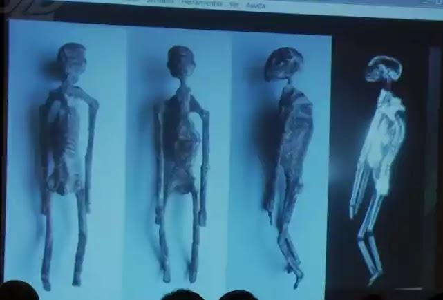 μουμιοποιημένα σώματα με τρία δάχτυλα στα χέρια και στα πόδια που φέρεται ότι βρέθηκαν σε ένα τάφο στο Περού κάποτε περπάτησαν στη Γη ως μη ανθρώπινα όντα,