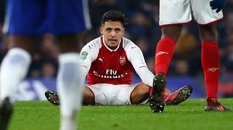 Alexis Sanchez tập luyện tại đội bóng mới