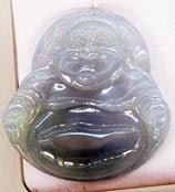 Jade Buddha Pendant Lavender Color