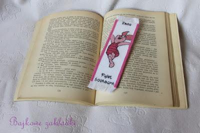 Zakładka z Prosiaczkiem – Piglet Bookmark