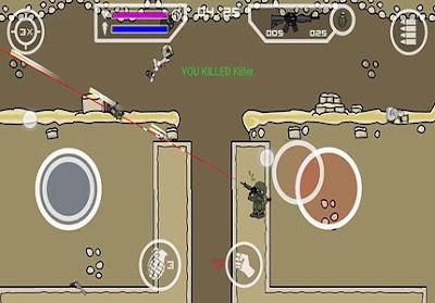 mini militia fly through walls mod apk