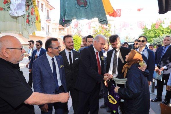 İBB Başkanı Mevlüt Uysal, Şile'nin köylerini ziyaret etti
