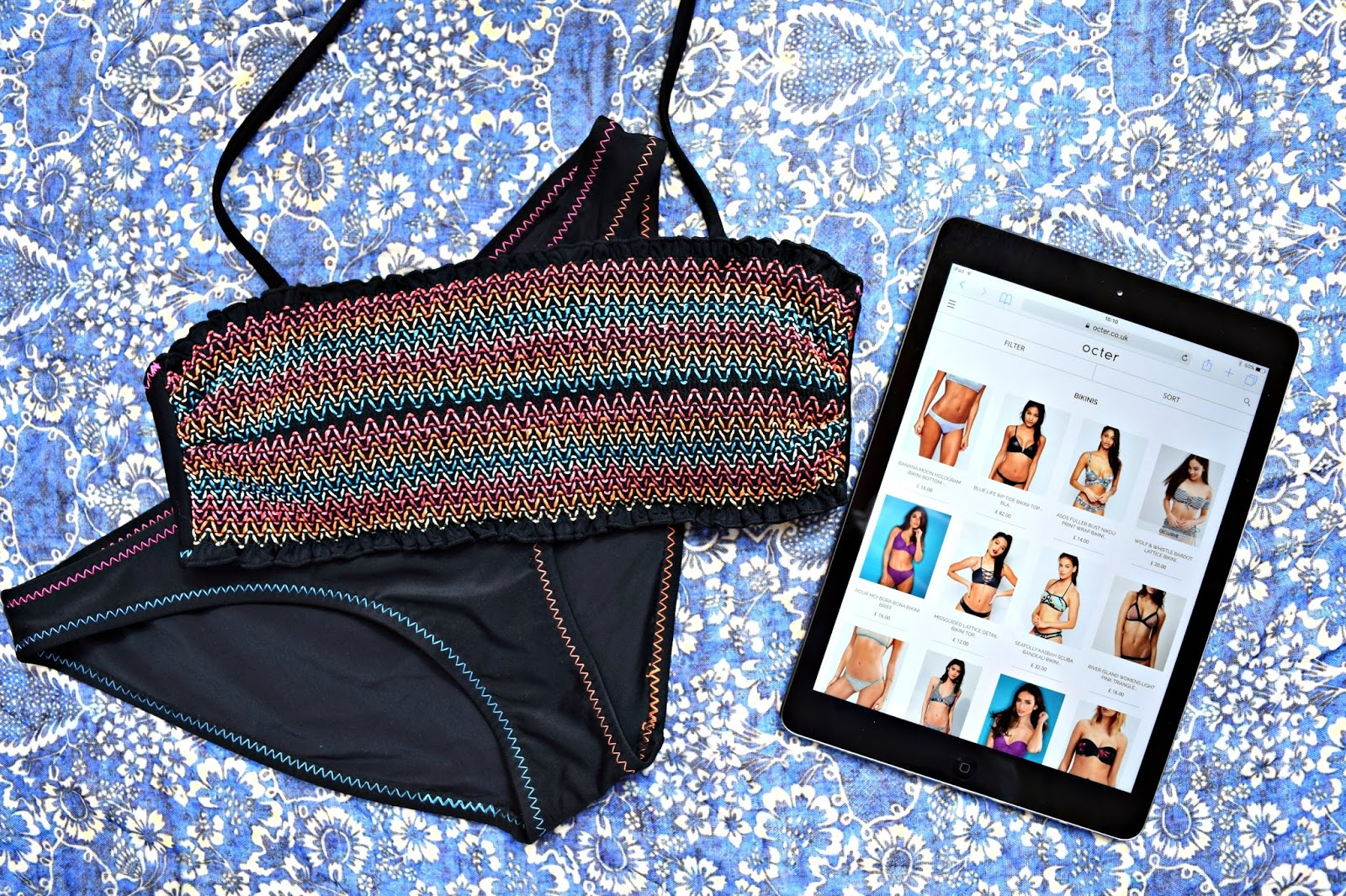 New Look Bandeau Bikini discovered with Octer