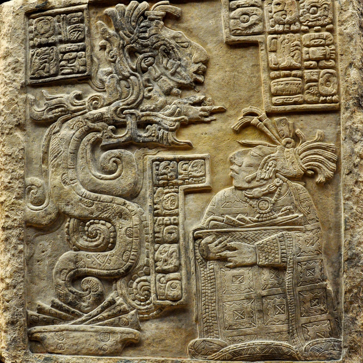 Lintel from Mexico, The British Museum, London, UK