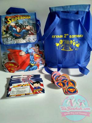 SUPERMAN TAS ULANG TAHUN