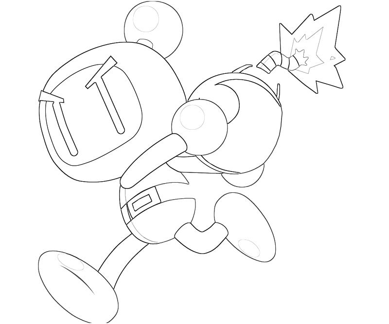 Bomberman coloring pages ~ Bomberman Bomberman Bom | Mario