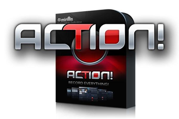 برنامج Mirillis Action لتصوير الألعاب بجودة عالية للكمبيوتر آخر إصدار