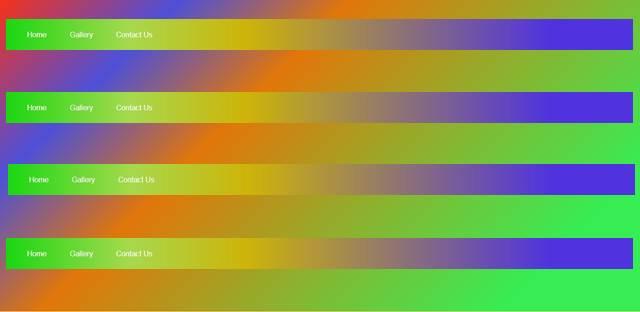 Cara Membuat Gradasi Warna Pada Menu Navbar