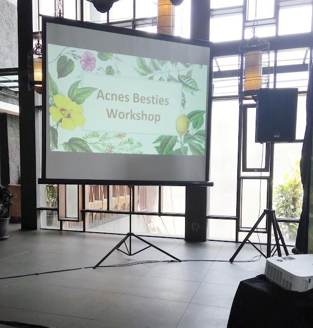Acnes Besties Workshop Bandung