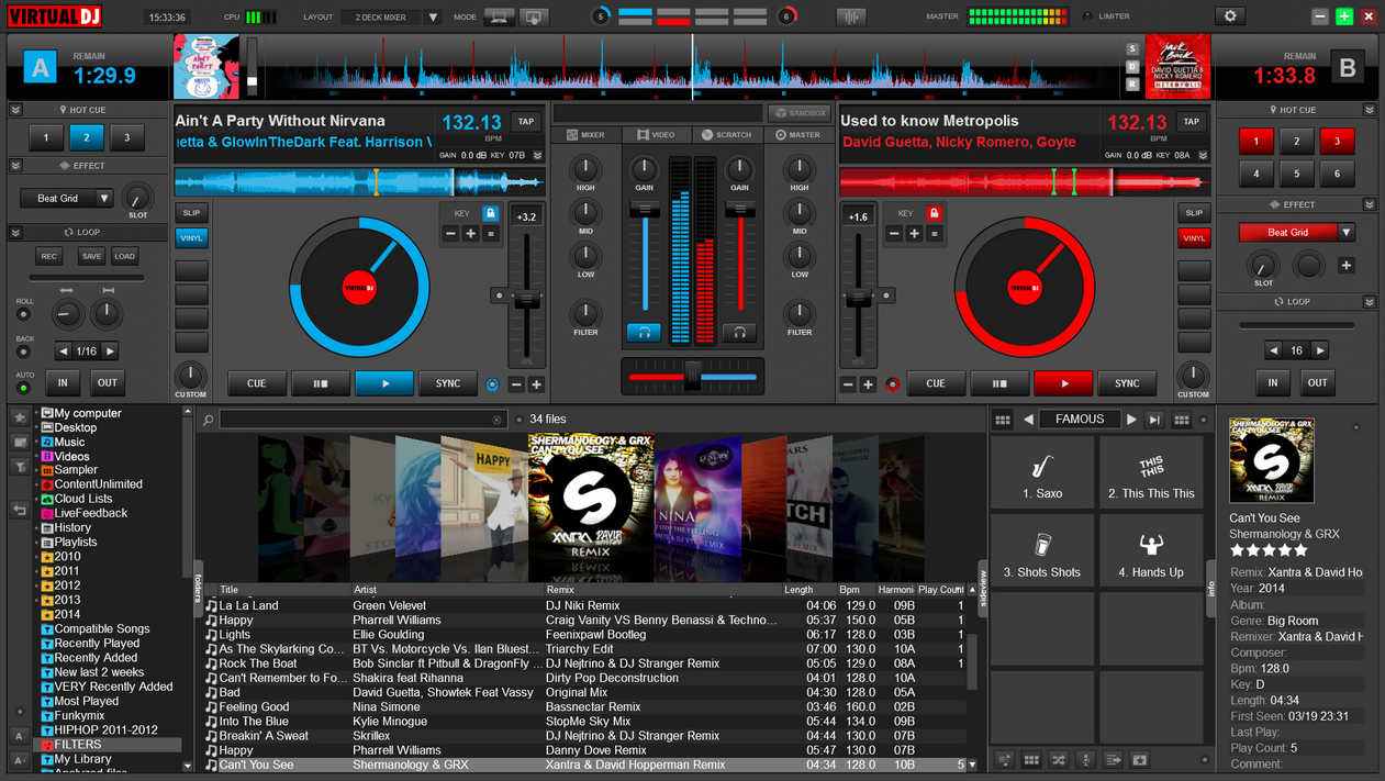 VirtualDJ 8 Download For Windows7/8/XP