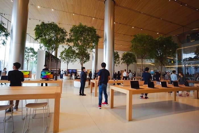 Apple's first store in Thailand Opened in ICONSIAM
