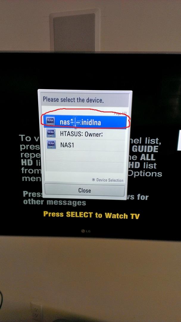 Integration between SmartTV and miniDLNA Server Ubuntu