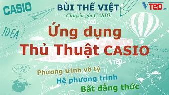 Ứng Dụng Thủ Thuật Casio - Bùi Thế Việt