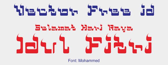Font Mohammed