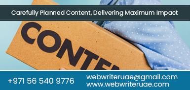 Content writing agencies dubai