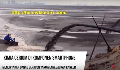 Ngerinya Racun Limbah Smartphone, Sampai Membentuk Danau