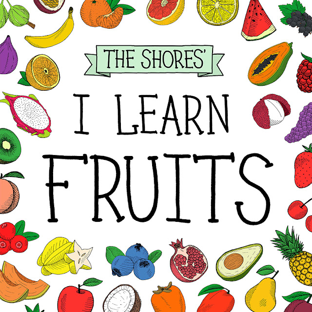 educational book about fruit names