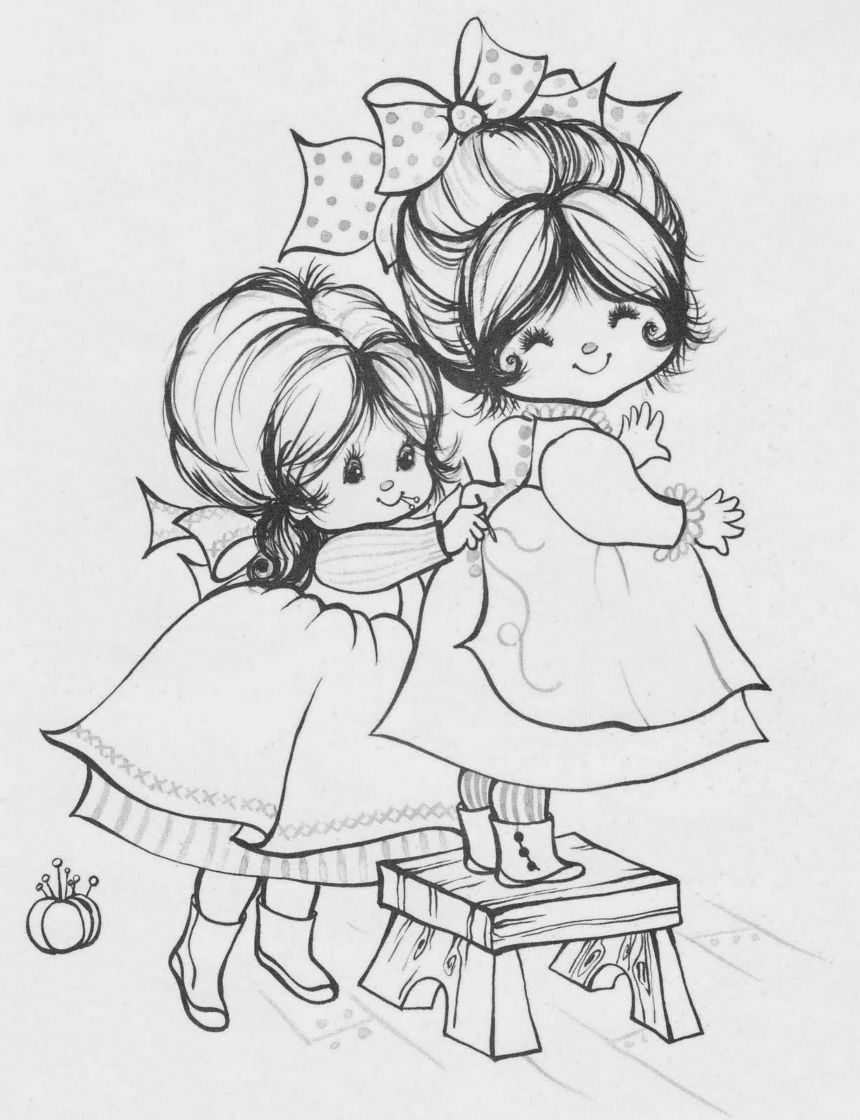 50 desenhos de crianças para colorir, pintar, preparar