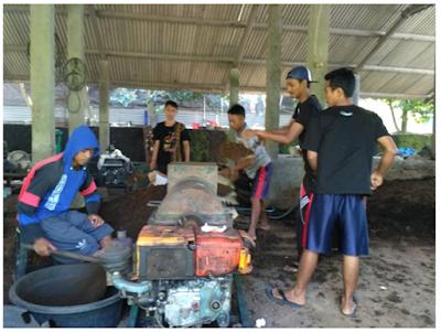 Kegiatan Mahasiswa KKN di PT. Pendawa Kencana Multi Farm Yogyakarta