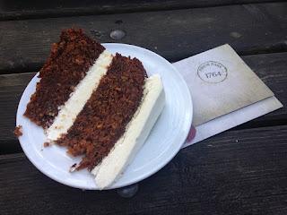 Carrot Cake Prior Park