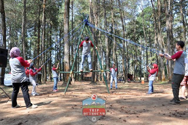 Team Building Bersama tripoutbound Seru Banget