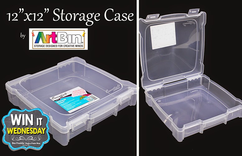 "12"" x 12"" Storage Case for paper and craft supplies by ArtBin"