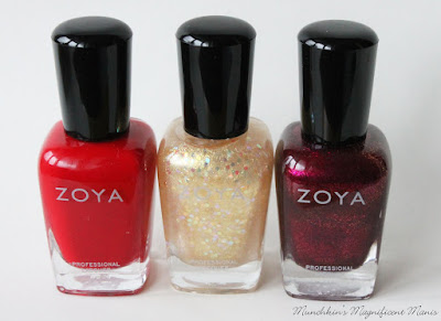 Zoya Redbook Trio collection
