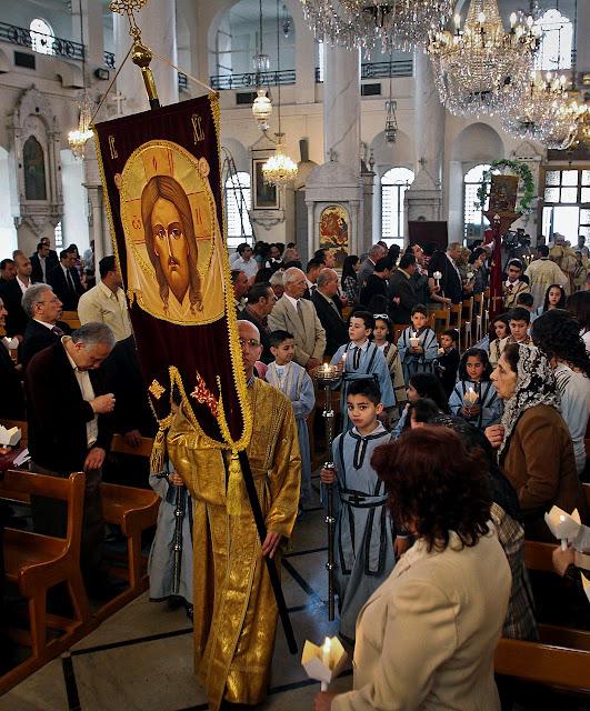 Perseguição e guerra na Síria reafervora católicos.