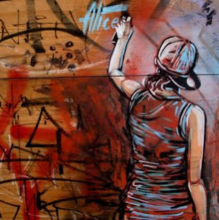 Уличные художницы Andrea Michaelsson и Ilya Meyer