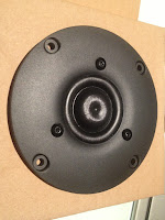 SB acoustics DIY active speaker 3 way grizzlyaudio DSP