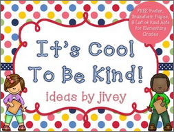 https://www.teacherspayteachers.com/Product/Its-Cool-To-Be-Kind-Poster-Brainstorm-Activities-and-List-kindnessnation-1220205