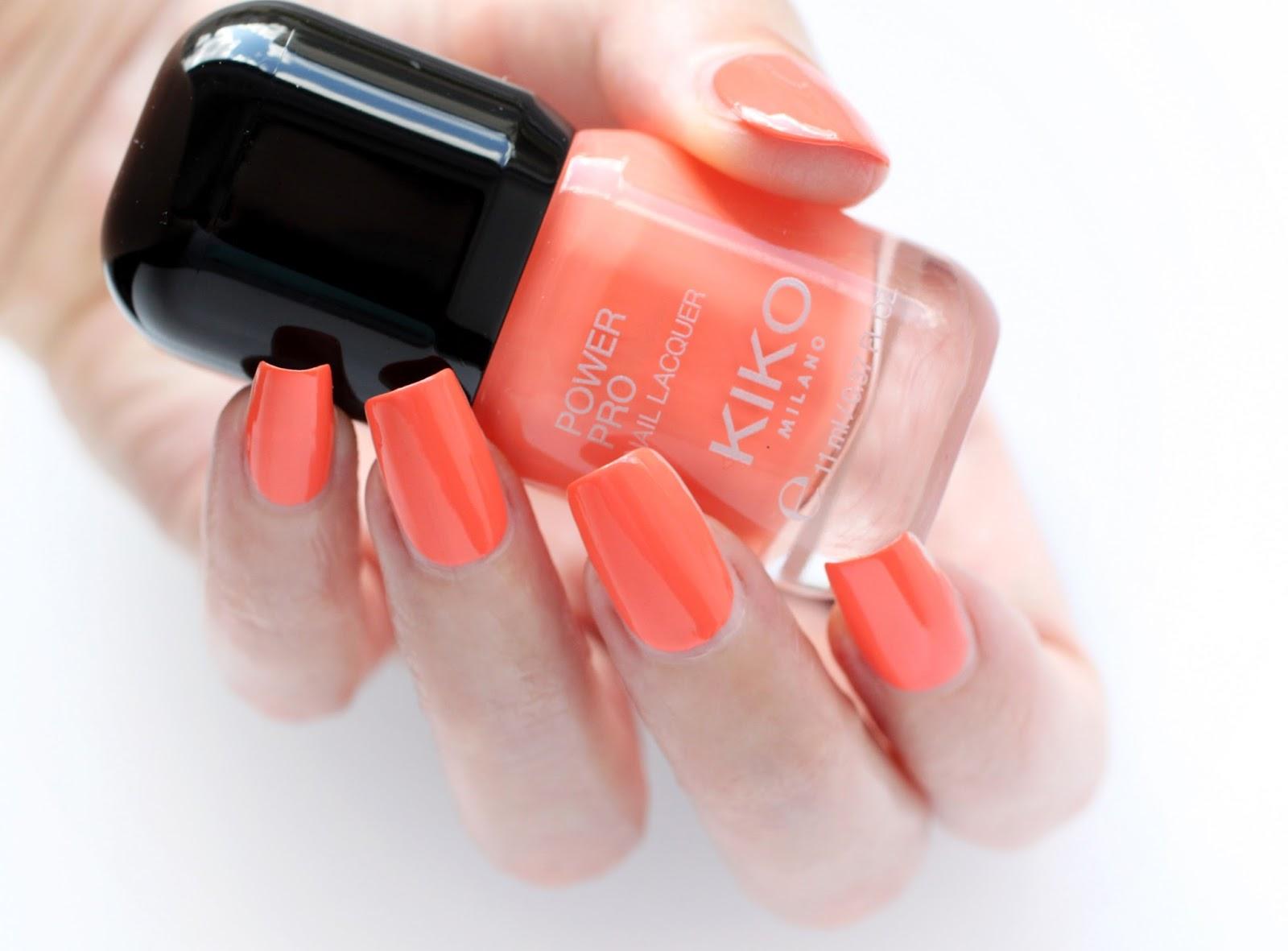 Power Pro Nail Lacquer en Peach de KIKO - DoBeauting