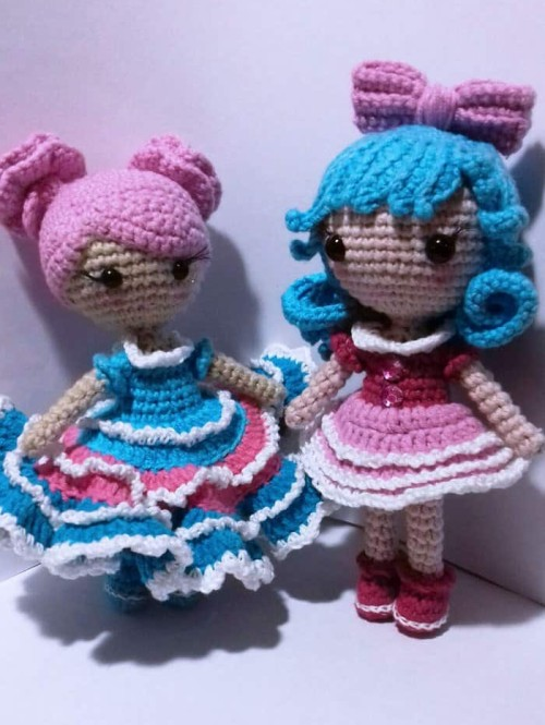 Little Crochet Doll Amigurumi - Free Pattern