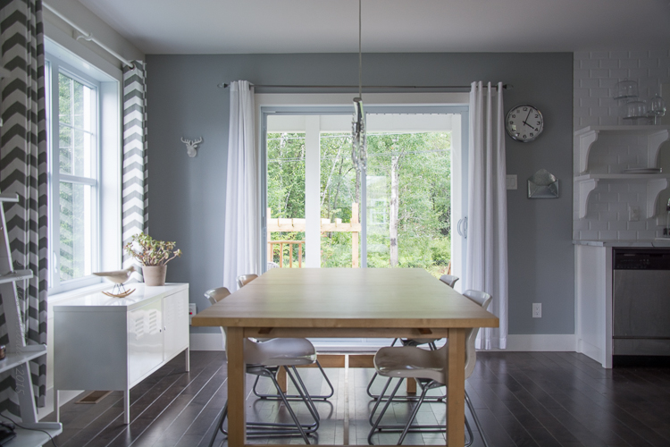habillage porte patio cuisine. Black Bedroom Furniture Sets. Home Design Ideas
