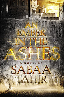 An Amber in the Ashes by Sabaa Tahir fantasy series based on Roman Empire