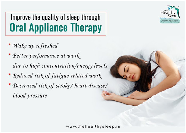 Oral appliance therapy kerala,india