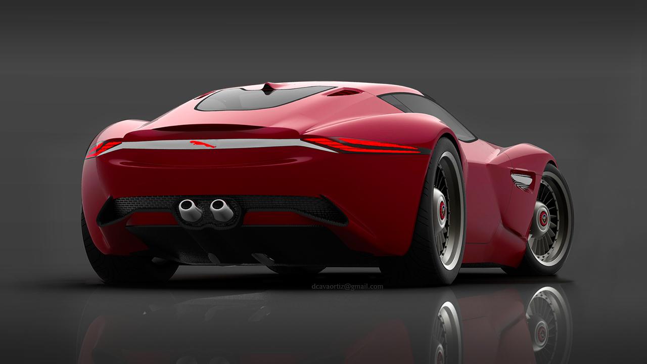 Jaguar Cxs Concept David Cava