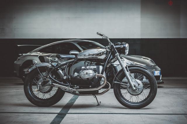 Bmw r50 5 assolo bellezza classica by emporio for Garage significato