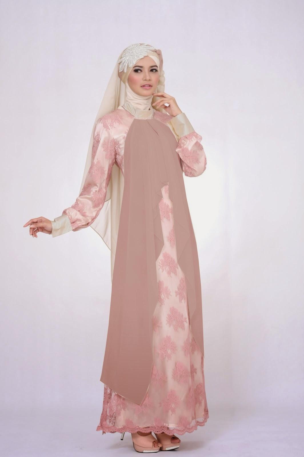 Model Baru Gaun Muslim Wanita Terbaik 2015