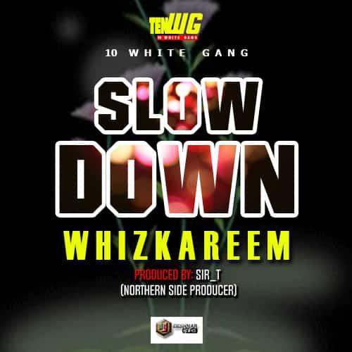 Wiz Kareem Slow Down - mwgraphics