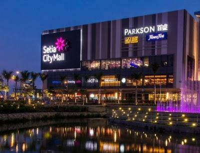 Tempat menarik di selangor waktu malam setia city mall