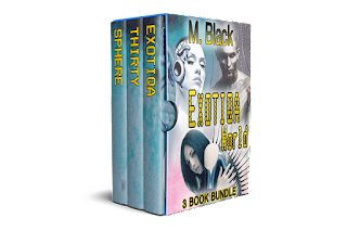 CYBERPUNK DYSTOPIA- Exotiqa Box Set (3 Book Set): Enter a World between Robot and Man