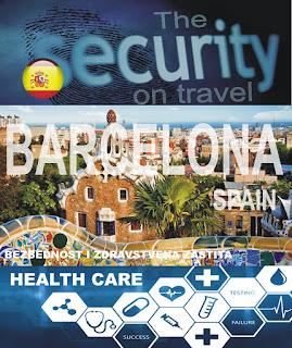 Barselona, Španija – Bezbednost i zdravstvena zaštita