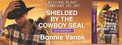 Release Blitz:  Shielded By the Cowboy Seal – Bonnie Vanak