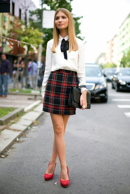 04282a6db2b Chic and Silk: PATTERNS: Καρό! Δείτε πως να το φορέσετε & Ποιό είναι ...